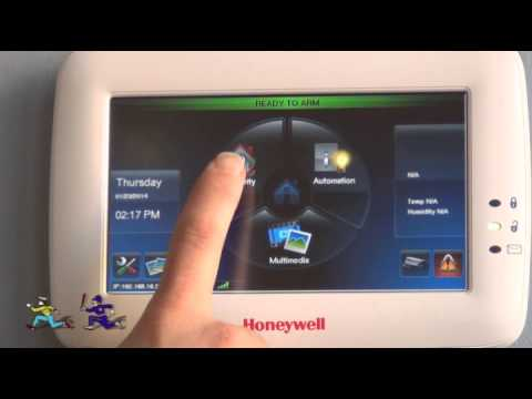 How to Operate a Honeywell Tuxedo Touch Console
