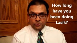 Week 11: How long has Dr  Patodia been doing lasik - Your Questions Answered by Dr. Patodia
