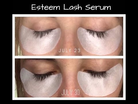 Esteem Lash Serum Youtube