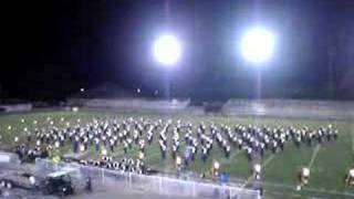 Walker Valley High School Marching Band 2007