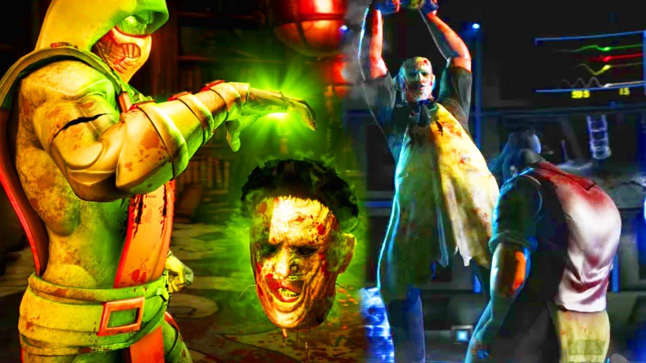 SICK ERMAC & RARE DRUNKEN MASTER - Mortal Kombat X