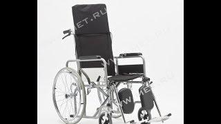 Кресло-коляска с высокой спинкой FS954GC(Подробное описание и характеристики представлены на нашем сайте http://www.met.ru/goods/1136/ . Кресло-коляска FS954GC с..., 2013-10-09T12:44:05.000Z)