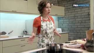 «Свежая еда» - Камбала с луково-яблочным соусом