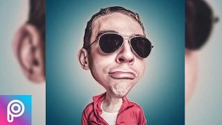 ✅أدهش أصدقائك بتحويل صورتك إلى كاريكاتير عن طريق برنامج picsart  للهاتف 😱💣