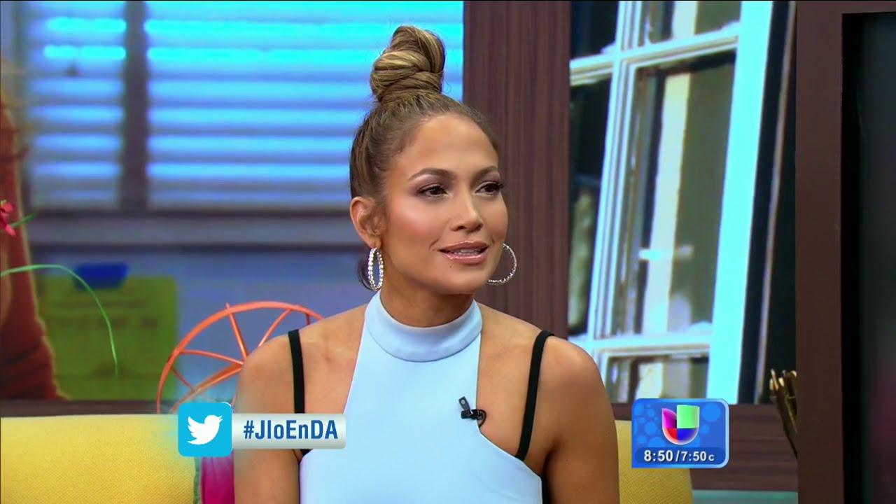 Jennifer Lopez En Despierta America 2015 Youtube
