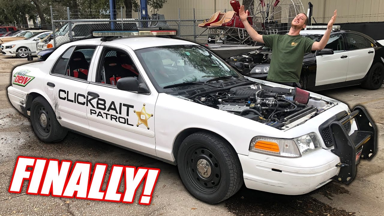 Our GT500 Powered Cop Car is REBORN! 900+hp Of Ford Powered Freedom!