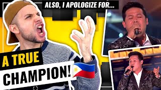 Marcelito - We Are The Champions | Freddie Mercury WOULD BE PROUD! | AGT Champions | HONEST REACTION