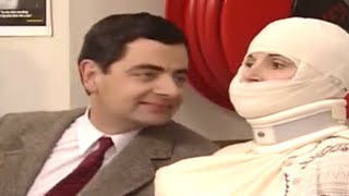 Teasing Bandaged Lady | Mr. Bean Official