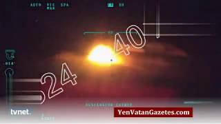 Afrin'de PKK/PYD konvoyu vurulduğu an (YeniVatanGazetesi.com) Video
