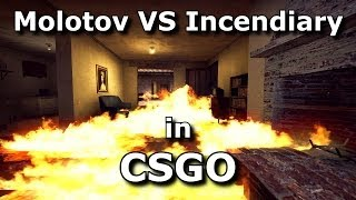 CS:GO - Molotov VS Incendiary Grenade