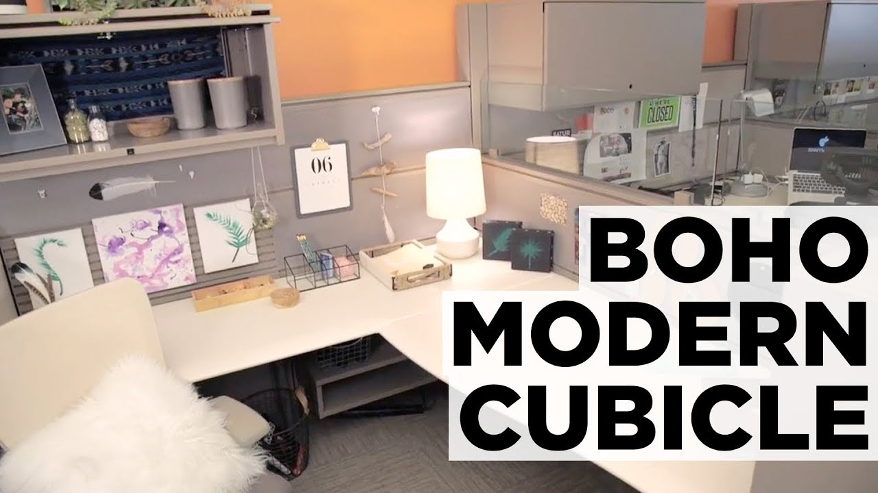 Nature Inspired Cubicle Makeover Hgtv Youtube