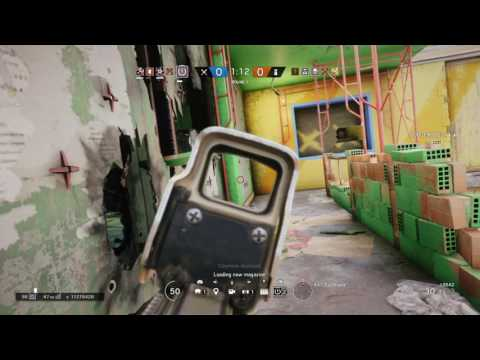 1v4 Valkyrie clutch - Rainbow Six Siege