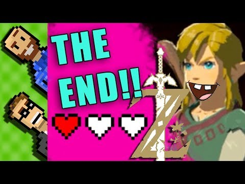 GANON FIGHT  w/ 3 HEARTS!   [Season 1 FINALE] Tell Us How to Play ZELDA BotW   The Basement   Ep100 thumbnail