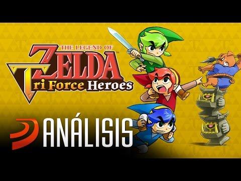 Zelda: Tri Force Heroes: ¿Está bien este Zelda para 3DS? Análisis