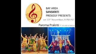 Parama Prakriti -  To Support --  https://www.paypal.me/bayareasanskriti