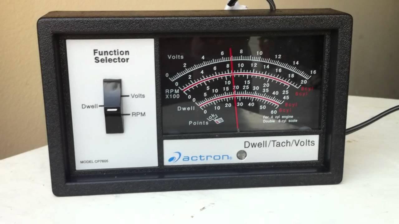 hook up dwell meter