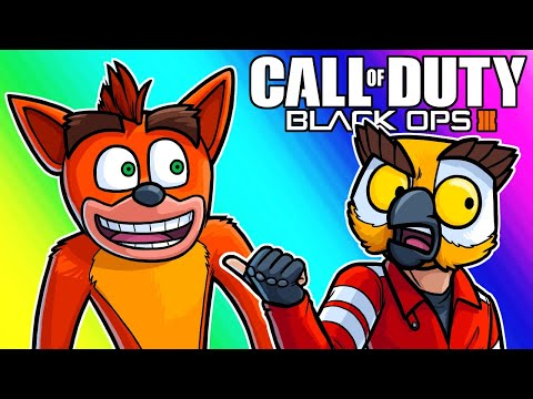 Black Ops 3 Zombies Funny Moments - Who's The Fox with the Blue Jeans?
