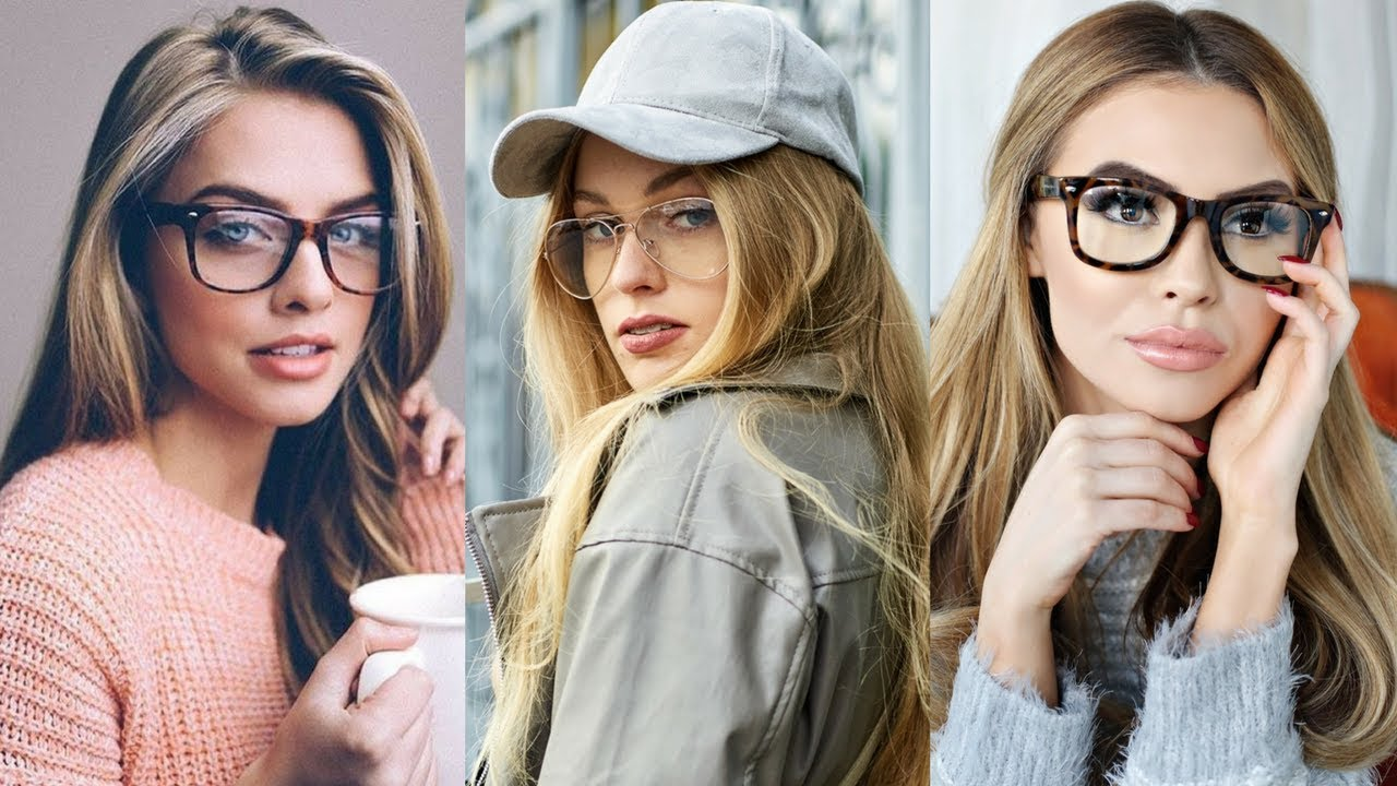 027246b672a7 How to Style Glasses for Women   Girls 2018