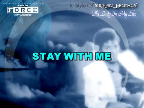Michael Jackson - The Lady In My Life Karaoke