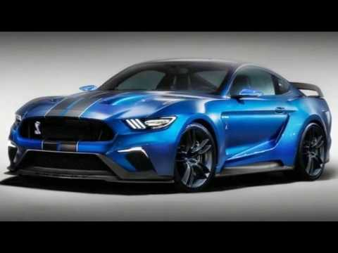 2018 FORD MUSTANG SHELBY GT500 - OVER VIEW And INTERIOR