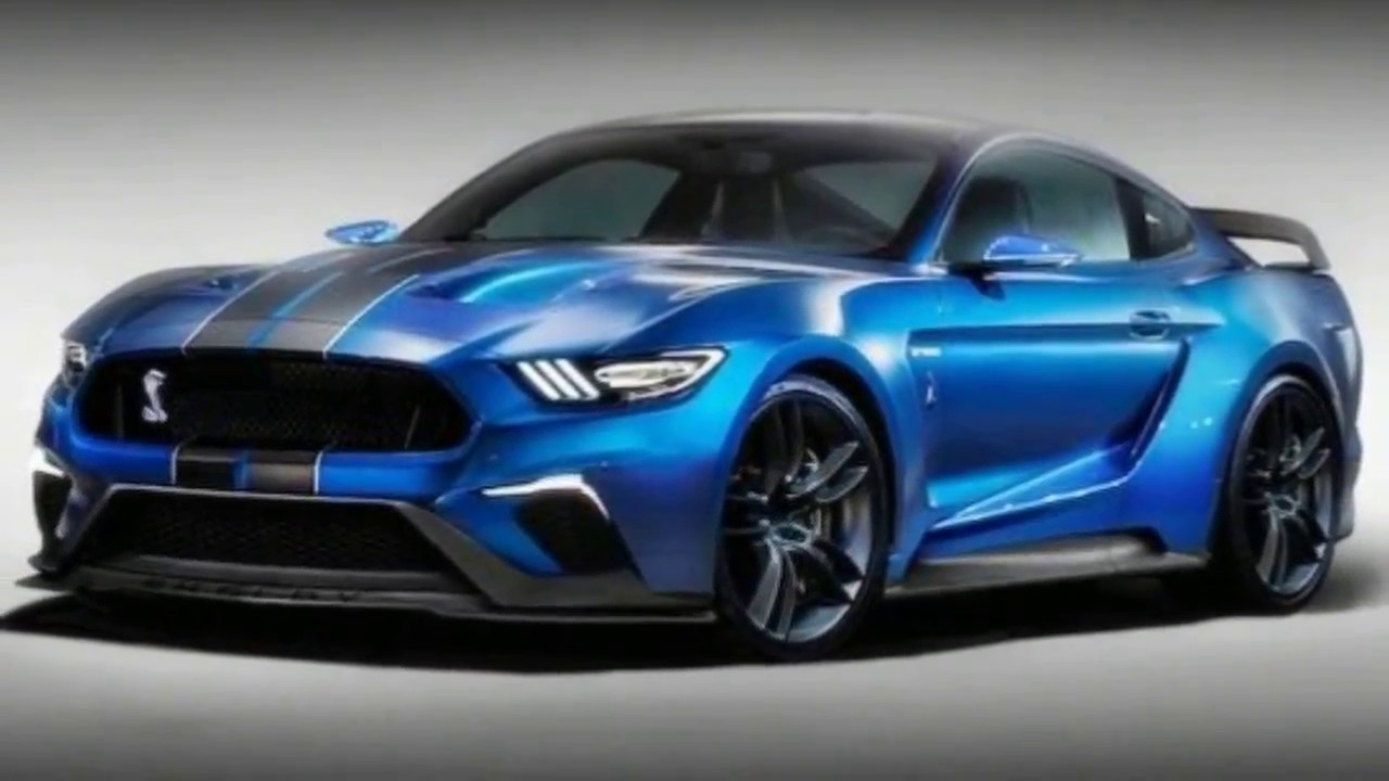 2018 Ford Mustang Shelby Gt500 Over View And Interior