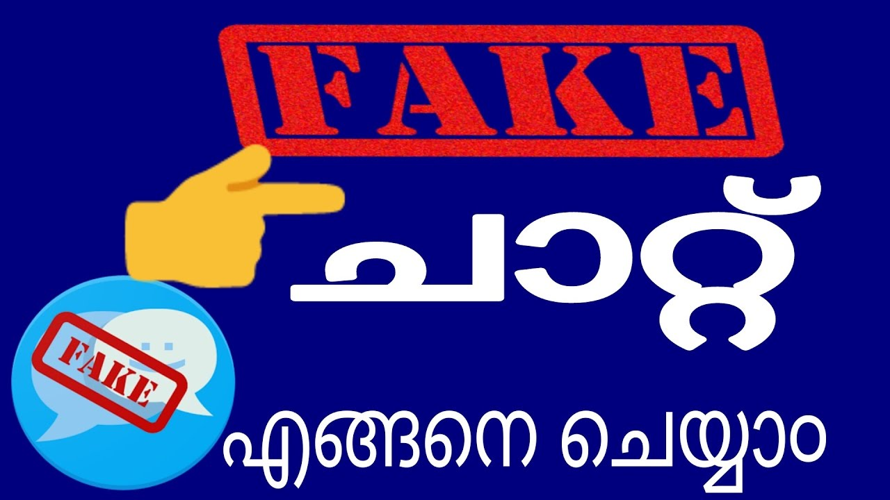 How to create fake messages // facebook whatsapp messenger any apps (  malayalam)mobile & tricks