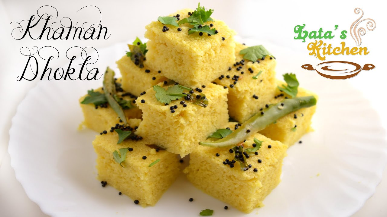 Khaman dhokla recipe gujarati snack recipe video in hindi with khaman dhokla recipe gujarati snack recipe video in hindi with english subtitles latas kichen youtube forumfinder Images