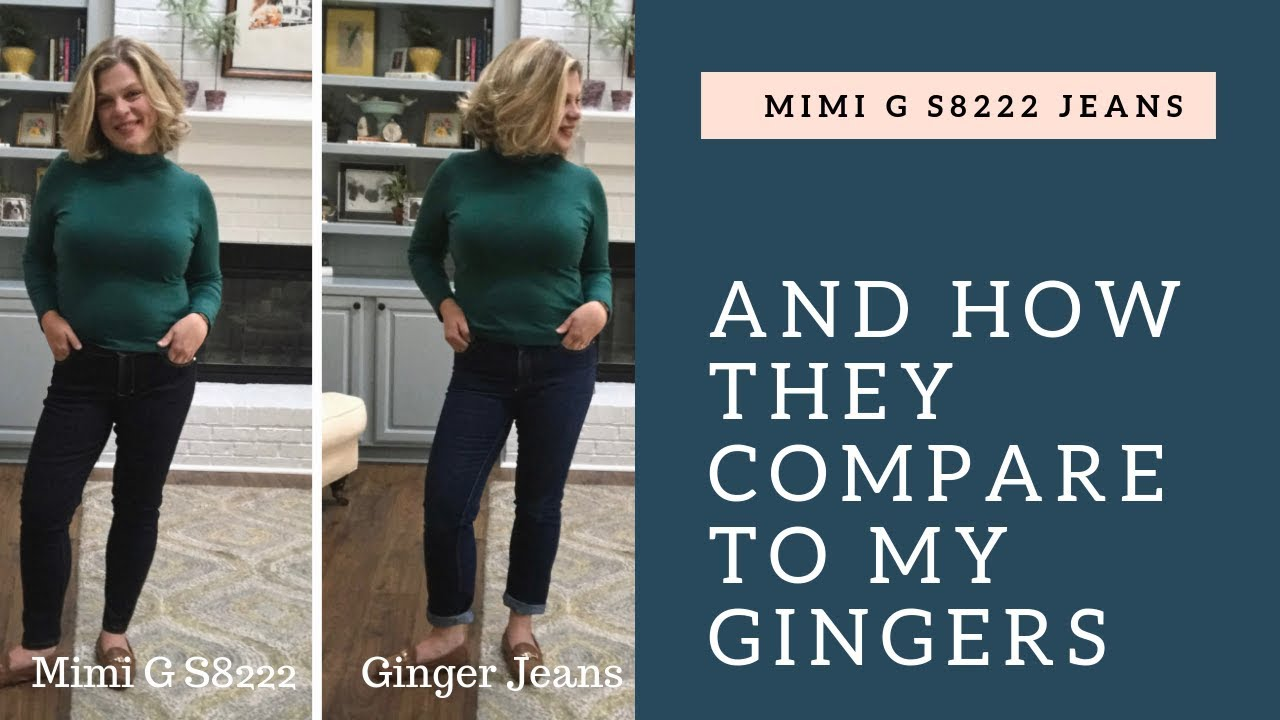 775dc7b8 Mimi G Capsule Wardrobe: The Jeans S8222 - And How They Compare To The  Ginger Jeans — TomKat Stitchery