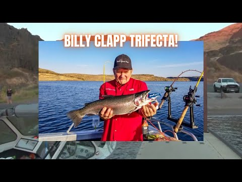 Billy Clapp Lake Trifecta! (Trout, Walleye, Bass)