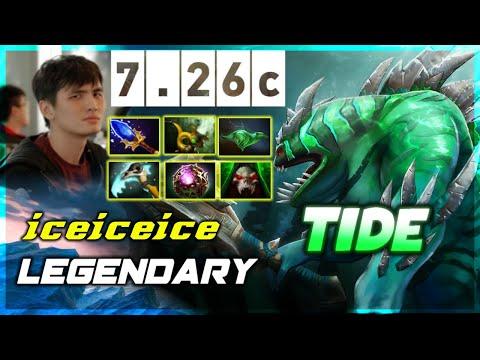 [DOTA 2 7.26c] Fnatic.iceiceice Legendary Tidehunter Offlane Pos 3
