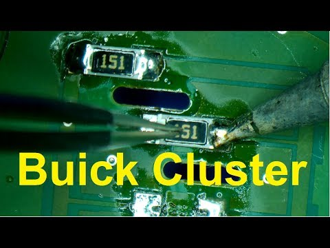 Buick Century & Regal Cluster Repair