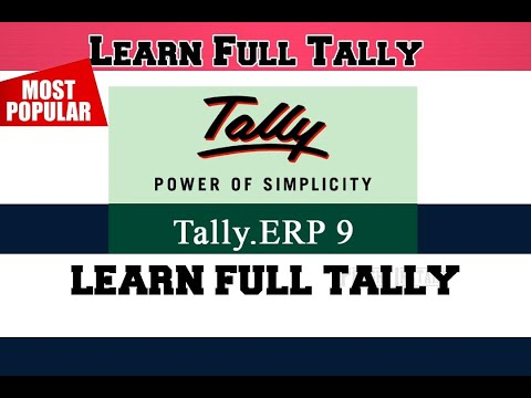 Learn Full Tally in kannada ಟ್ಯಾಲಿ ಕನ್ನಡದಲ್ಲಿ in 1 hour with GST Accounting software