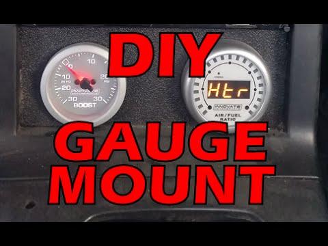 Boost Gauge + DIY Gauge Mount (Broke & Boosted Ep3)