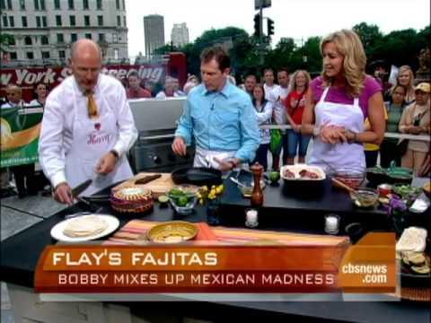 Bobby Flay Grills Fajitas Recipe