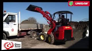 Погрузчик Gianni Ferrari(Turboloader - серия профессиональных многофункциональных машин для проведения строительных и уборочных работ...., 2014-03-13T05:41:03.000Z)
