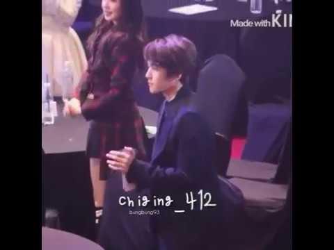 ♥Baekhyun reaction for Taeyeon Win in...