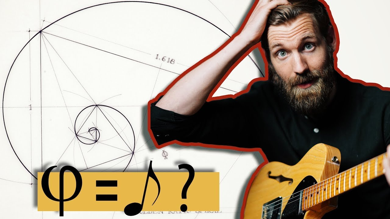 I explored the Golden Ratio (Φ) in music (CRAZY!)