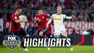 Bayern Munich vs. Monchengladbach | 2018-19 Bundesliga Highlights