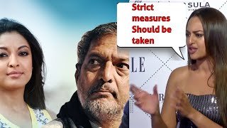 Sonakshi Sinha Reacts On Tanushree Dutta Nana Patekar Controversy