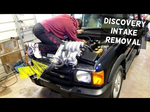 LAND ROVER DISCOVERY INTAKE REMOVAL REPLACEMENT 4.0 V8