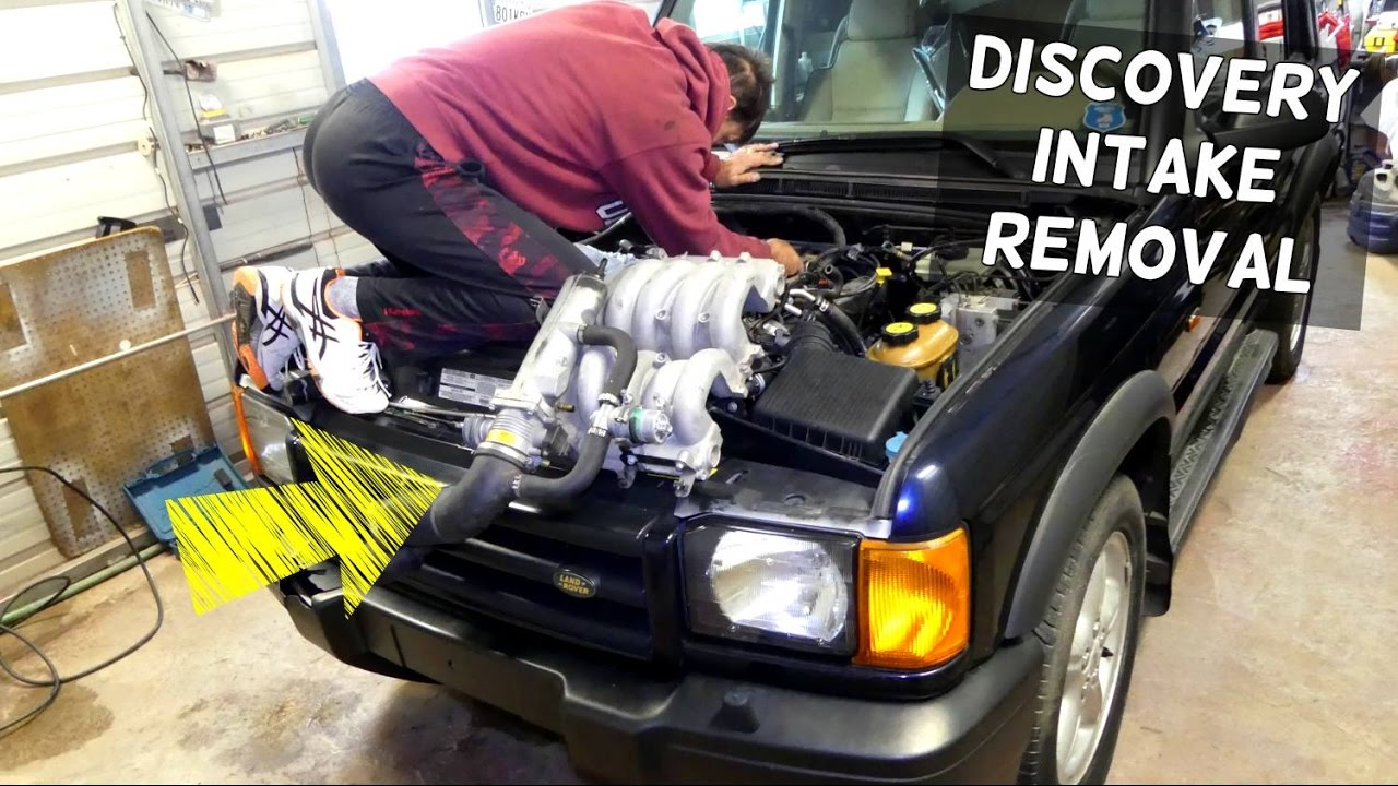 LAND ROVER DISCOVERY INTAKE REMOVAL REPLACEMENT 4.0 V8 on