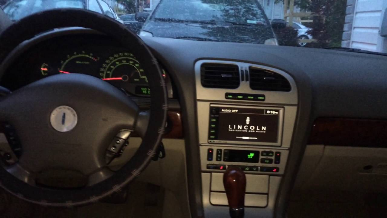 Inside My 2004 Lincoln Ls V8 From Back Seat Youtube