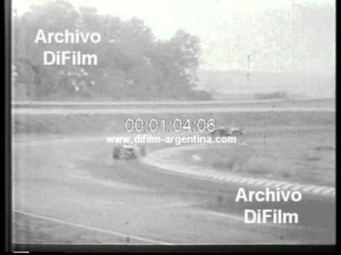 DiFilm - Jacky Ickx wins Formula 2 Vallelunga circuit (1967)