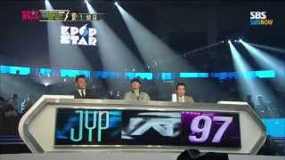Repeat youtube video SBS [KPOPSTAR3] - 우승자 버나드 박의 'I Believe I Can Fly'