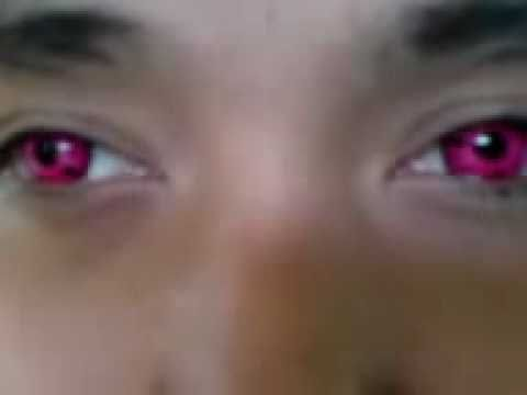 How To Get Geo Anime Soft Color Contact Lenses Cp S1 Sharingan Youtube