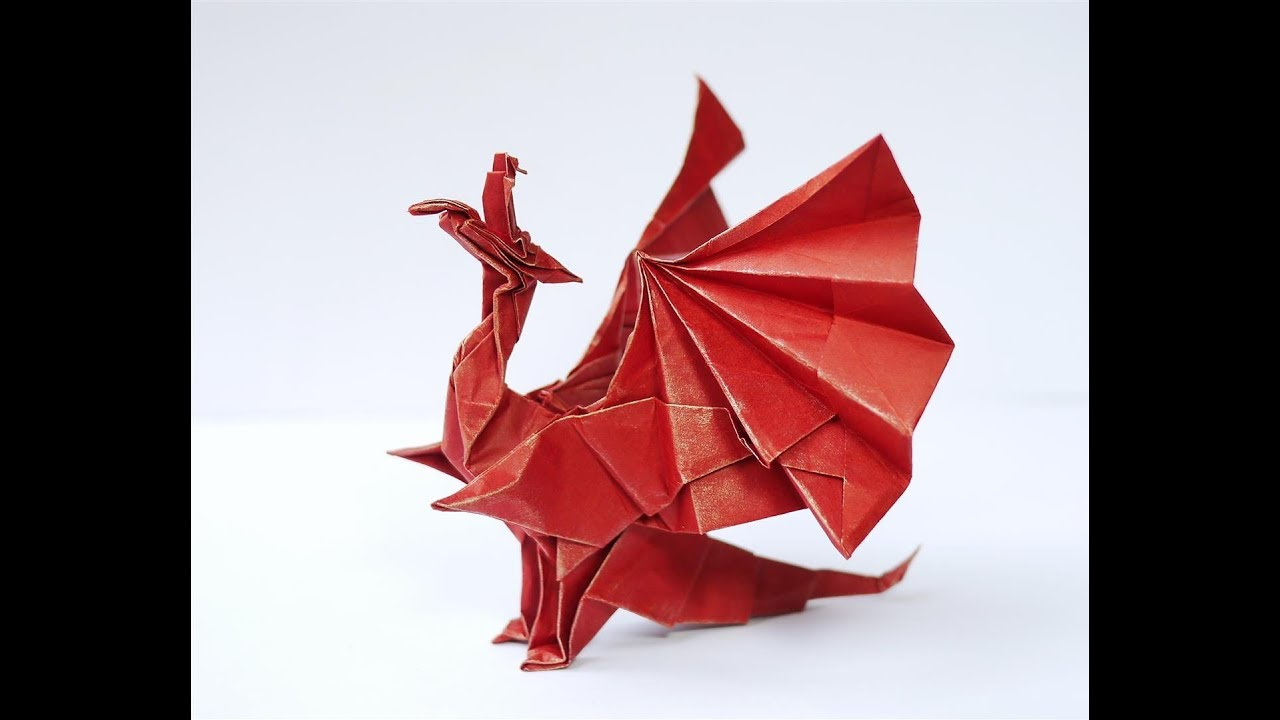 origami drache devil 39 s tongue dragon anleitung deutsch design gregor m ller youtube. Black Bedroom Furniture Sets. Home Design Ideas