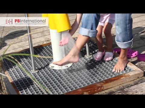 PB International - Voetendouche Stranddouche I Beach Feet Shower
