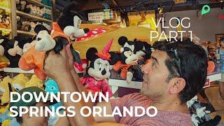 Nuevo Downtown Springs Orlando Vlog Part 1
