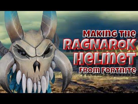 Making The Ragnarok Helmet From Fortnite