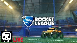 Rocket League with Skull and Pat
